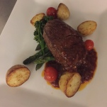Fillet Steak With a Port and Cranberry Sauce